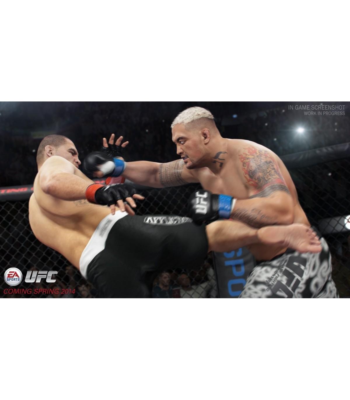 بازی UFC کارکرده