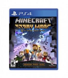 بازی Minecraft: Story Mode کارکرده - پلی استیشن 4