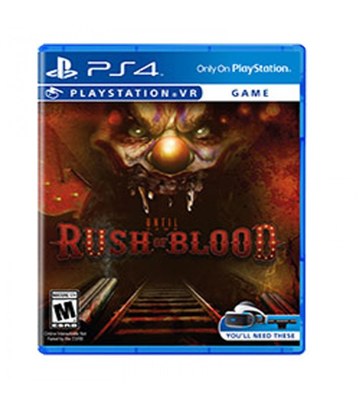 بازی   Until Dawn:Rush Of Blood VR