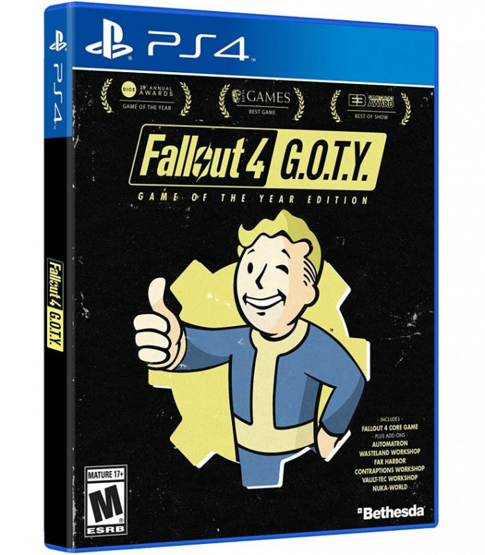 بازی Fallout 4 Game of The Year Edition