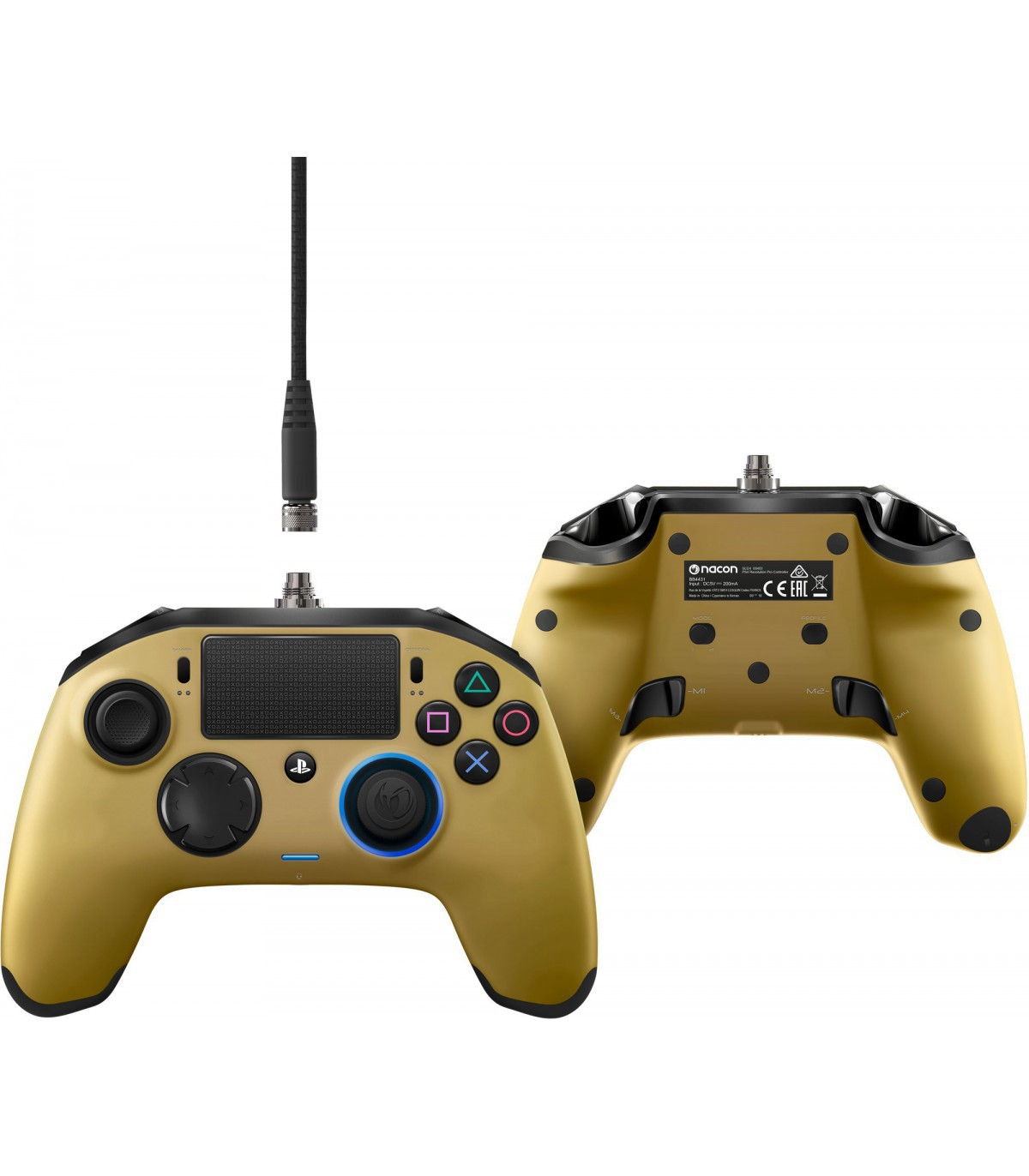 PS4 Revolution Pro Controller gold