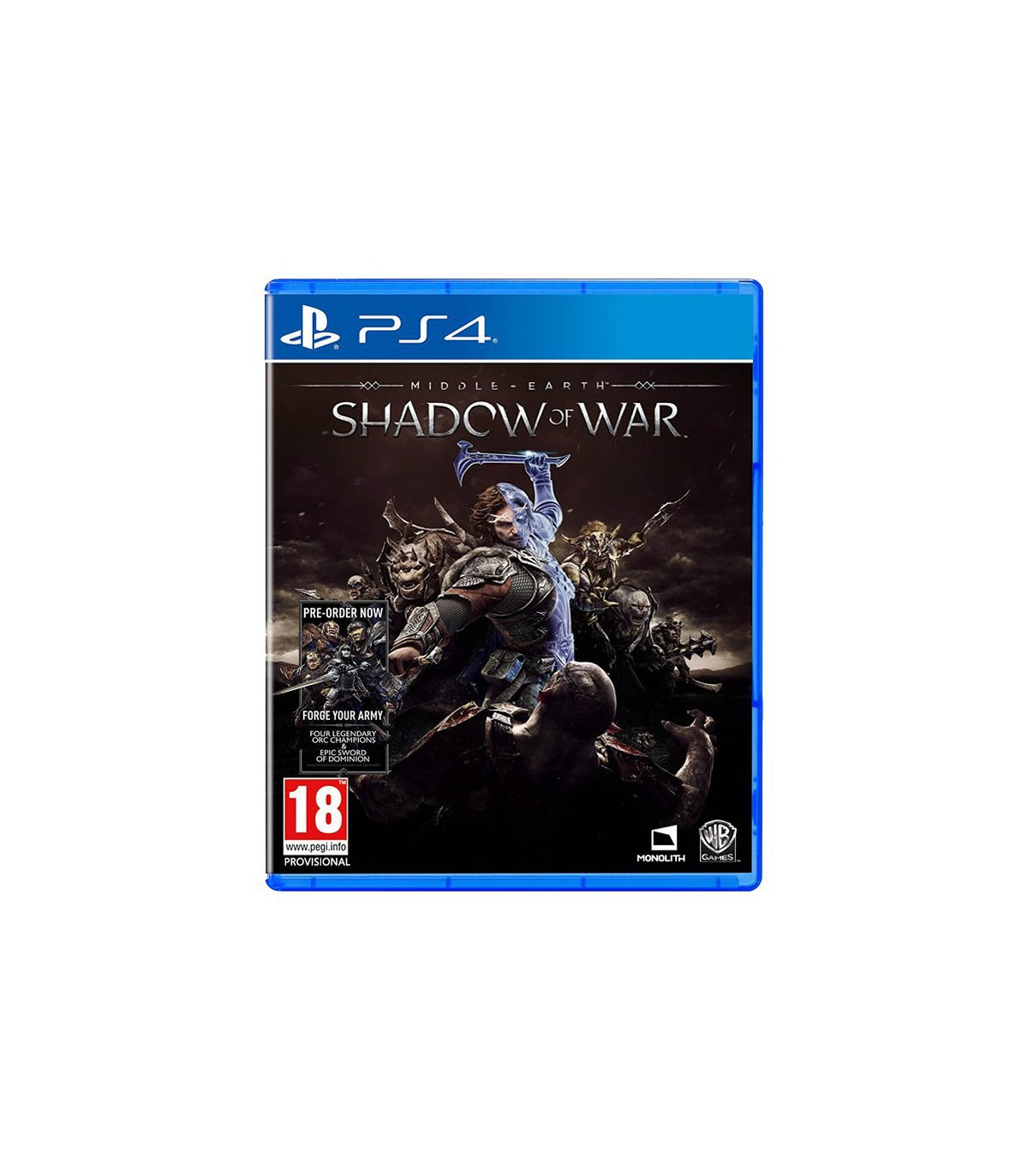 بازی Middle-Earth: Shadow Of War - پلی استیشن 4