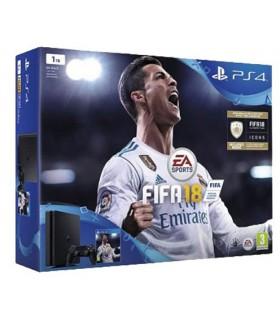 پلی استیشن 4 اسلیم باندل فیفا 18 PS4 Slim Fifa 18 Bundle - فاقد بازی