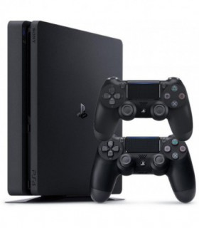 Playstation 4 Slim  R2 -1TB - 2 Controller