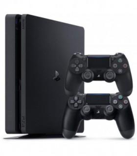 Sony Playstation 4 Slim Region 2 CUH-2116B 1TB 2 Controller Game Console