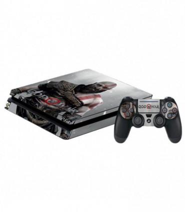 اسکین PS4 اسلیم طرح God Of War