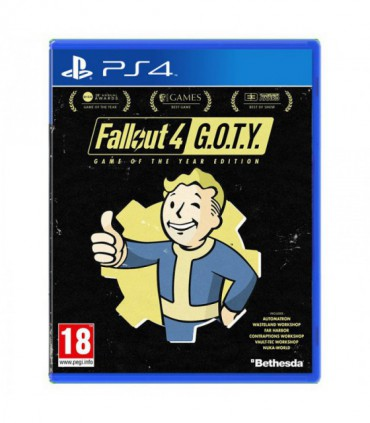 بازی Fallout 4 Game of The Year Edition - پلی استیشن 4