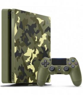 پلی استیشن 4 اسلیم 1 ترابایت باندل بازی PS4 Slim Call of Duty WWII Bundle