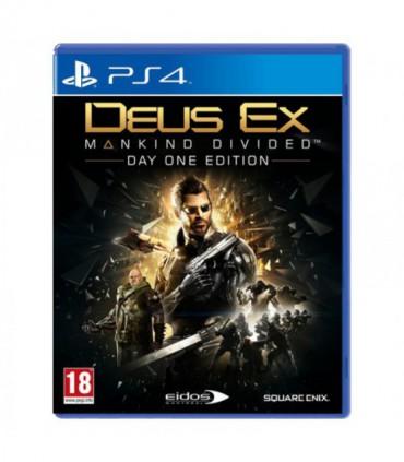 بازی Deus Ex:Mankind Divided کارکرده - پلی استیشن 4