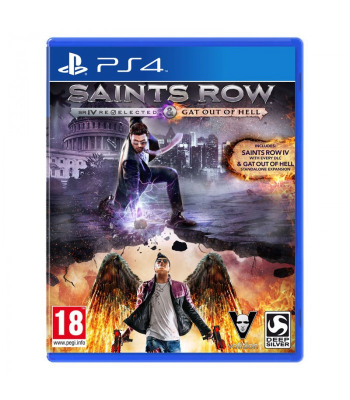 بازی Saints Row IV: Re-Elected & Gat Out of Hell کارکرده - پلی استیشن 4