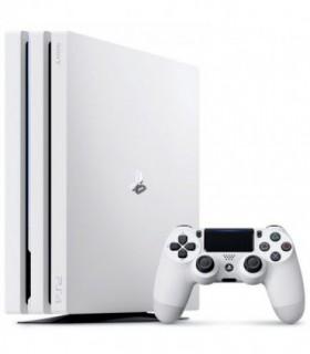 کنسول بازی مدل PlayStation 4 Pro White Glacier - ظرفیت 1 ترابایت