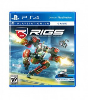 بازی RIGS Mechanized Combat League VR کارکرده - پلی استیشن وی آر