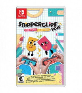 بازی Snipperclips Plus: Cut It Out Together - نینتندو سوئیچ