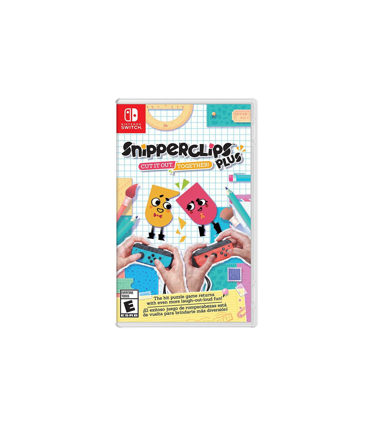 بازی Snipperclips Plus: Cut It Out Together - نینتندو سوئیچ