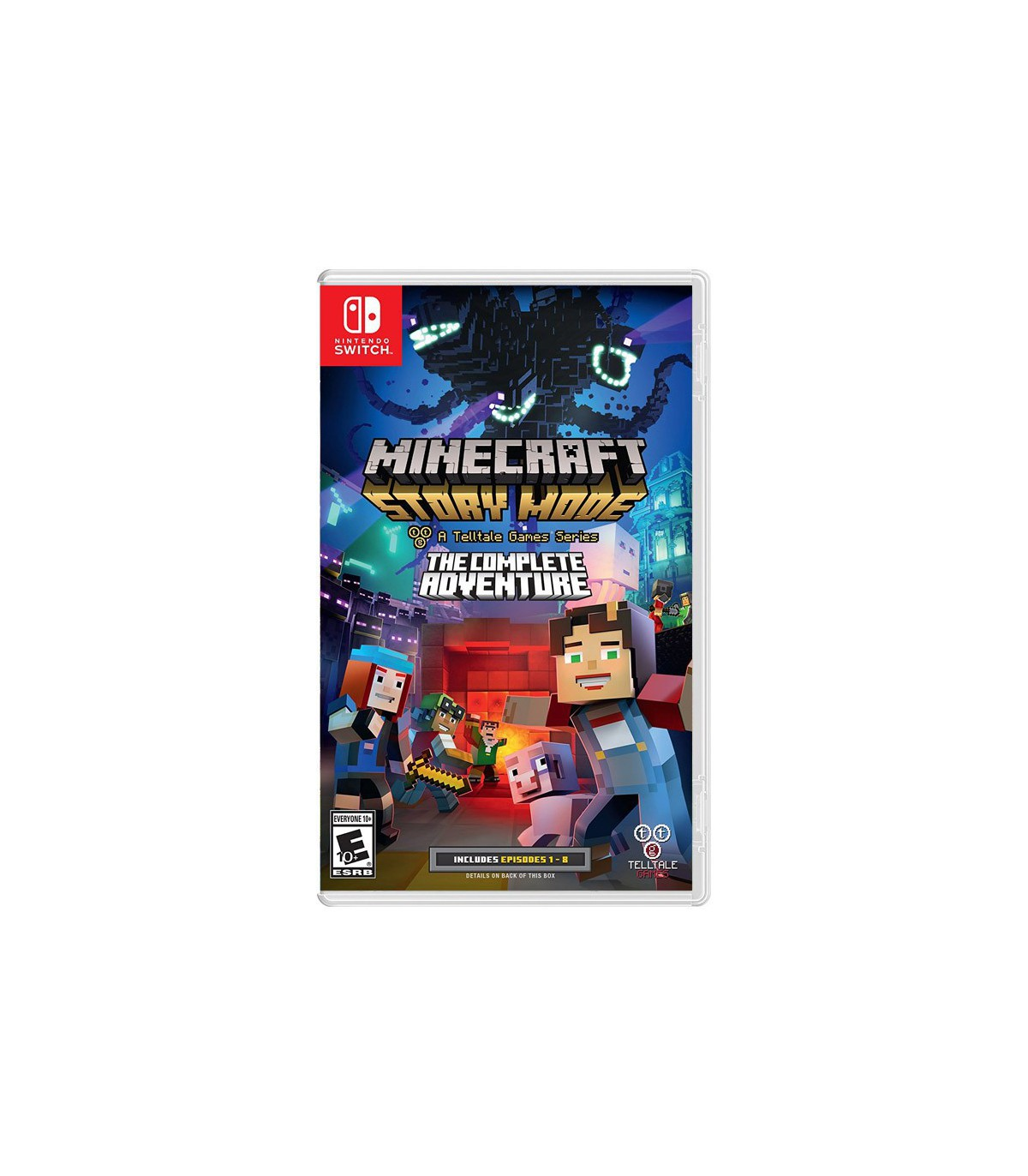 بازی Minecraft: Story Mode - The Complete Adventure - نینتندو سوئیچ
