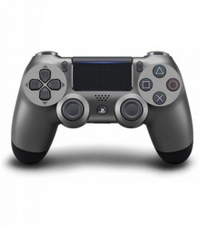 دسته خاکستری اسلیم DualShock 4 Steel Black Slim Wireless Controller