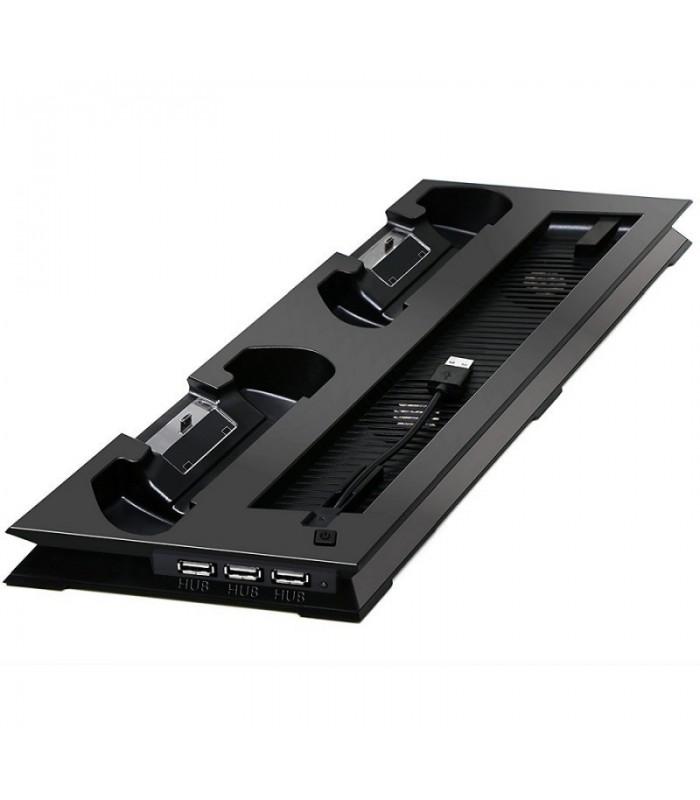 پایه خنک کننده و شارژر کنترلر پلی استیشن پرو Playstation 4 Pro Ultrathin Charging Heat Sink