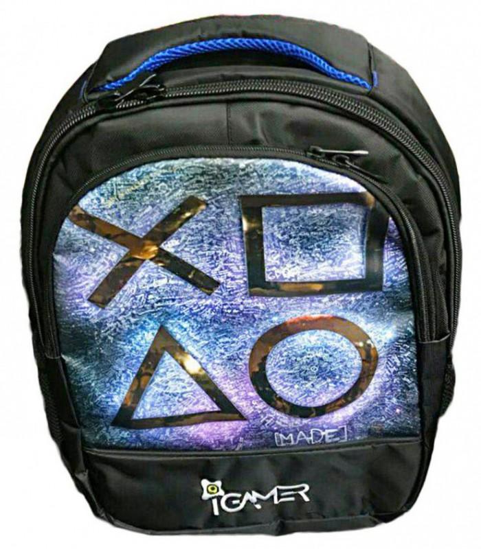 کیف کنسول PS4 آی گیمر مدل کوله پشتی طرح SONY