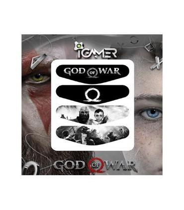 پک چهارعددی لایت بار دسته پلی استیشن 4 طرح God Of War