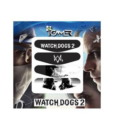 پک چهارعددی لایت بار دسته پلی استیشن 4 طرح  Watch Dogs 2