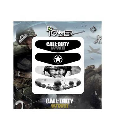 پک چهارعددی لایت بار دسته پلی استیشن 4 طرح Call Of Duty: WWII