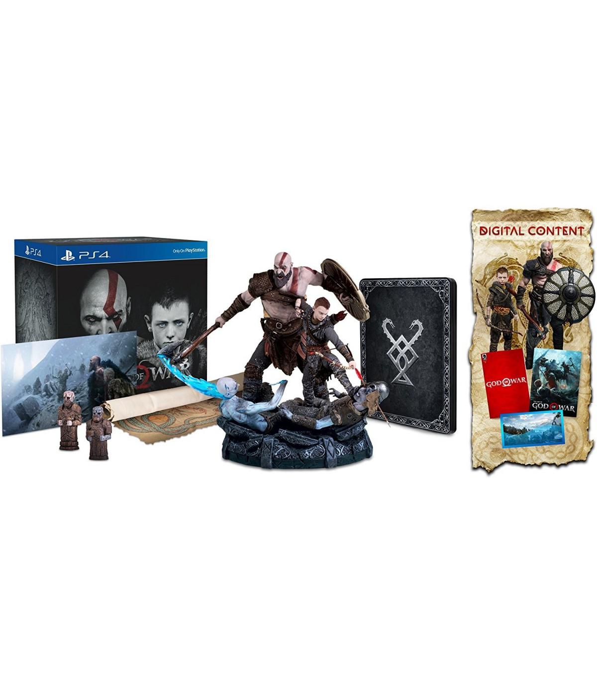 نسخه کالکتور بازی گاد او وار God of War Collector's Edition - پلی استیشن 4