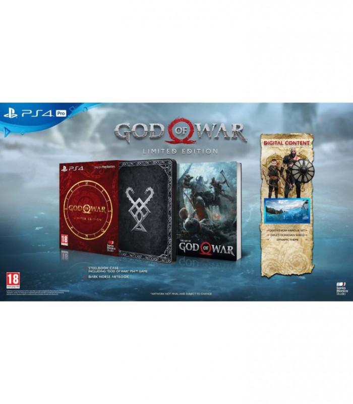 نسخه لیمیتد ادیشن بازی گاد او وار God of War Limited Edition - پلی استیشن 4
