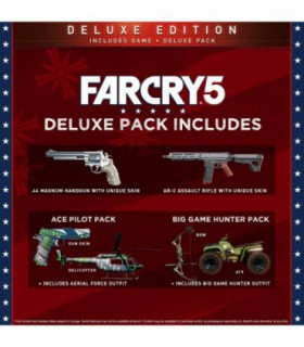 بازی farcry 5 deluxe edition - ایکس باکس وان