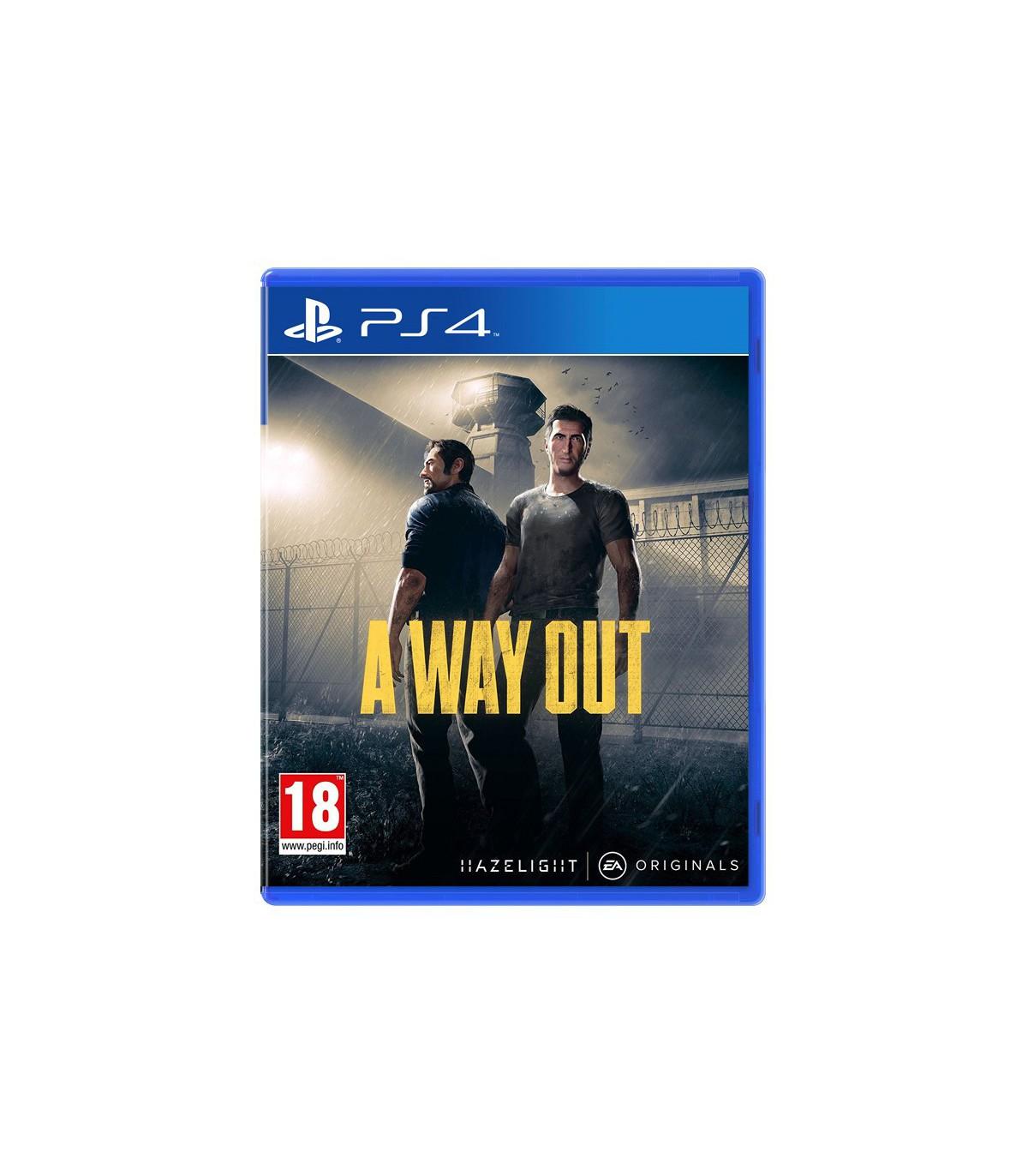 بازی a way out کارکرده - پلی استیشن 4
