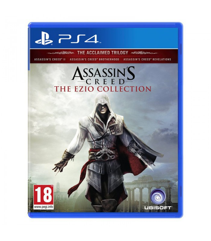Assassin's Creed The Ezio Collection کارکرده - پلی استیشن ۴