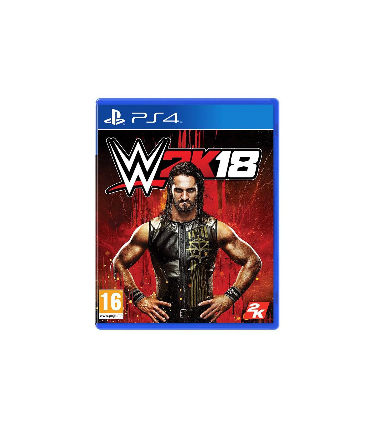 بازی WWE 2K18 کارکرده - پلی استیشن 4