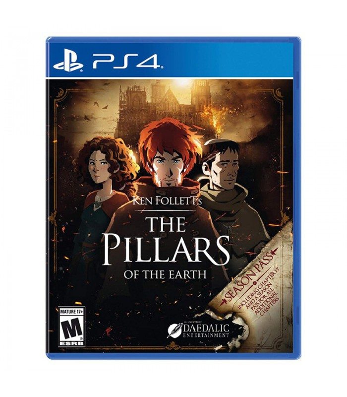 بازی The Pillars of The Earth کارکرده - پلی استیشن 4