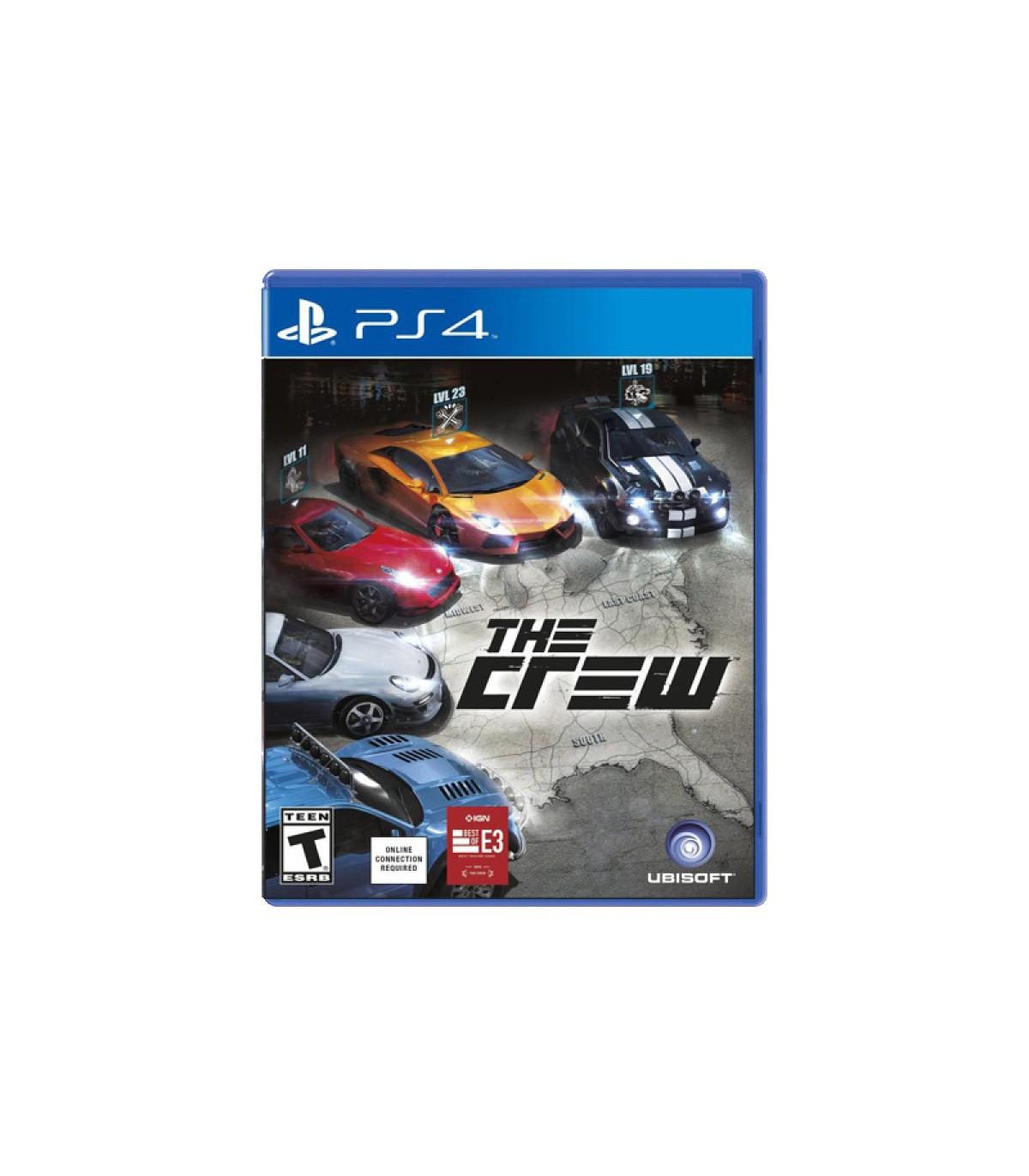 بازی The Crew کارکرده - پلی استیشن 4
