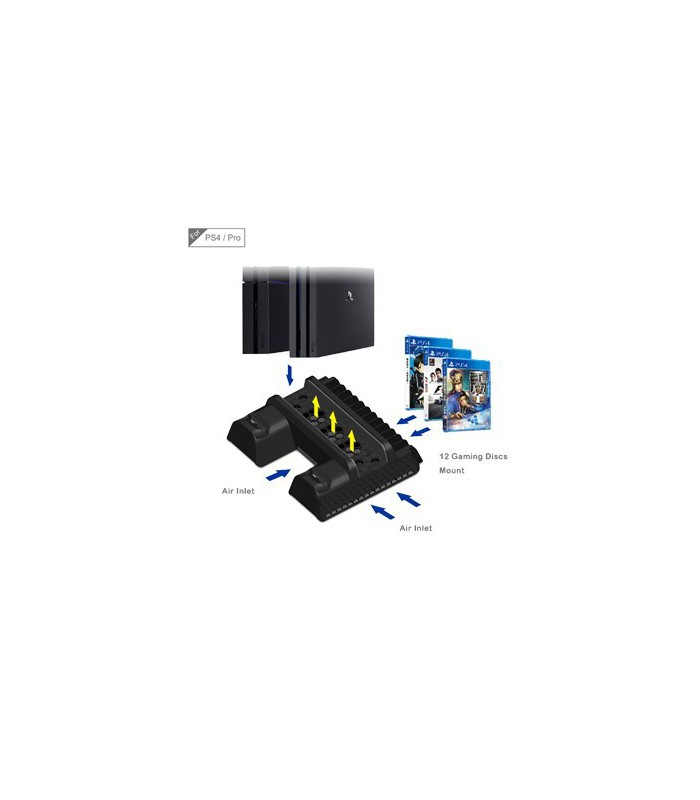 PS4 / Slim/ Pro Charger Cooling Stand