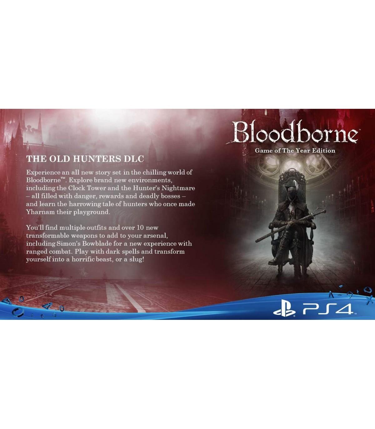 بازی Bloodborne Game of the Year Edition - پلی استیشن 4
