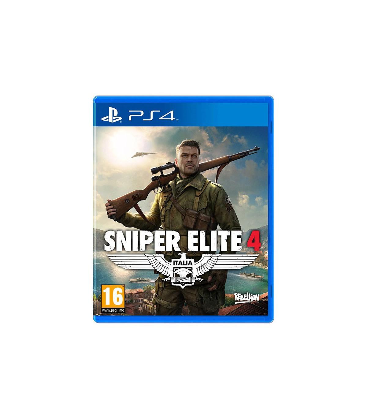 بازی Sniper Elite 4 - پلی استیشن ۴