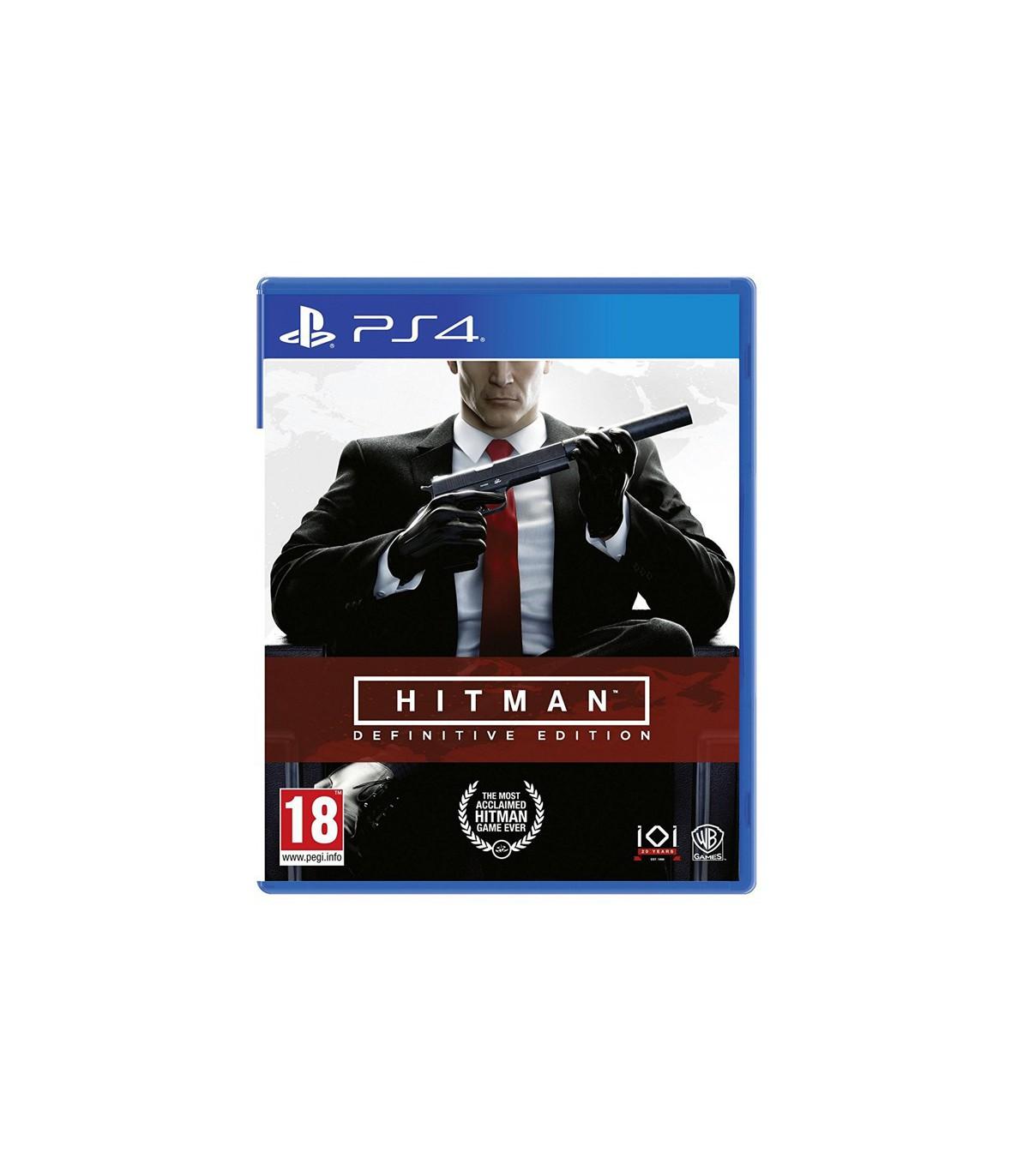 بازی Hitman: Definitive Edition کارکرده - پلی استیشن 4