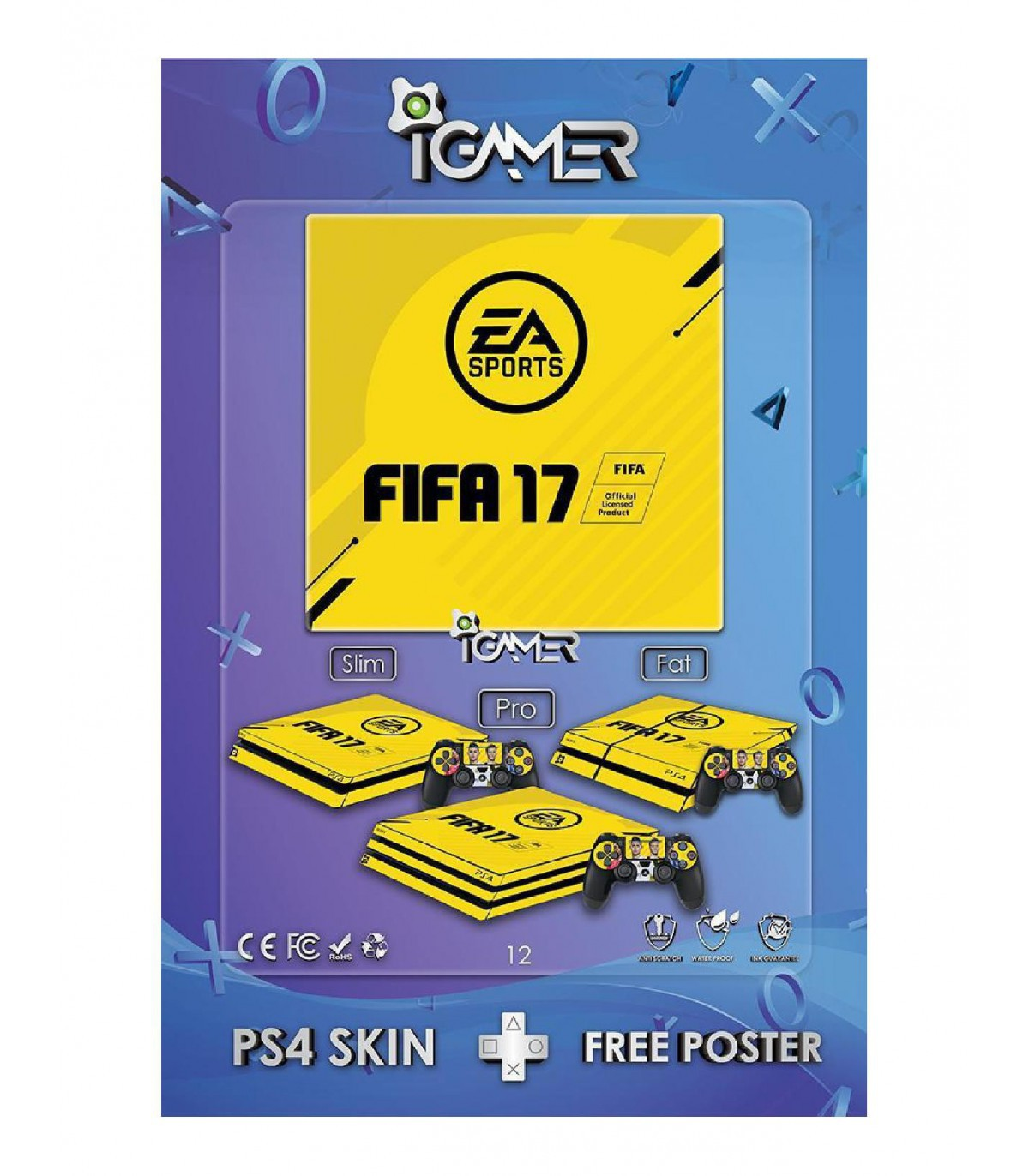 اسکین PS4 طرح FIFA17