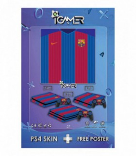 More about اسکین PS4 طرح Barca