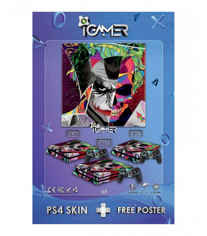 اسکین PS4 طرح Joker