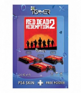More about اسکین PS4 طرح Red Dead 2