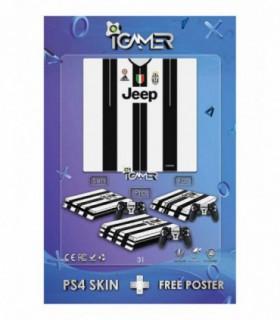 اسکین PS4 طرح Juventus
