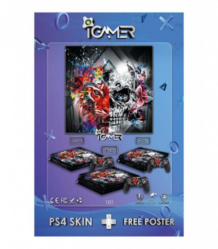 اسکین PS4 آی گیمر طرح جدید شماره 1