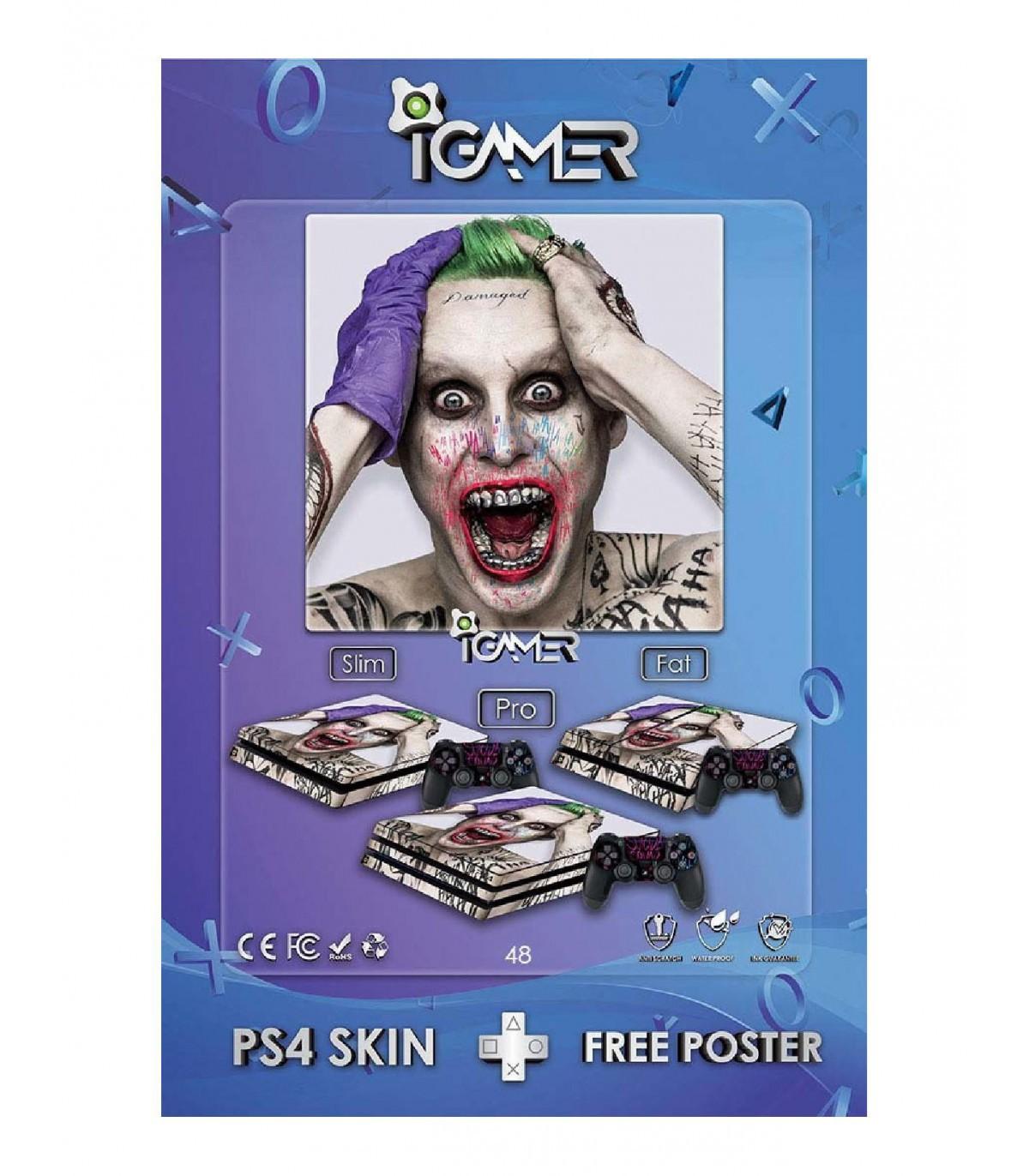 برچسب پلی استیشن  طرح Joker 5