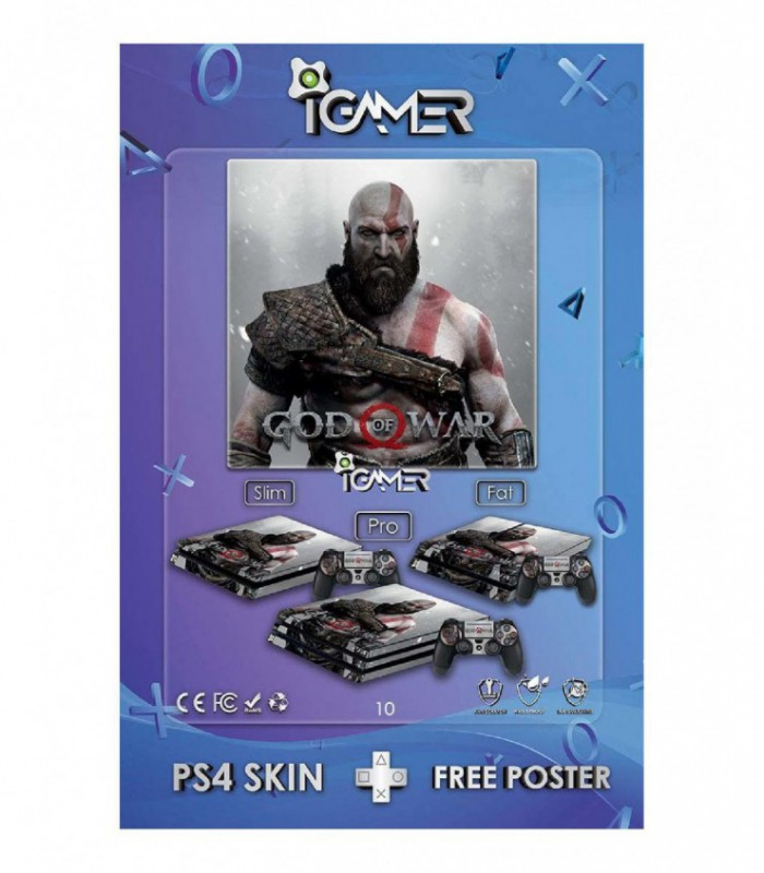 اسکین PS4 طرح God Of War
