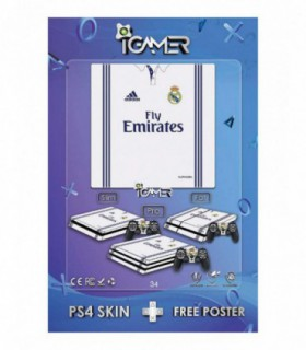 اسکین PS4 طرح Real Madrid