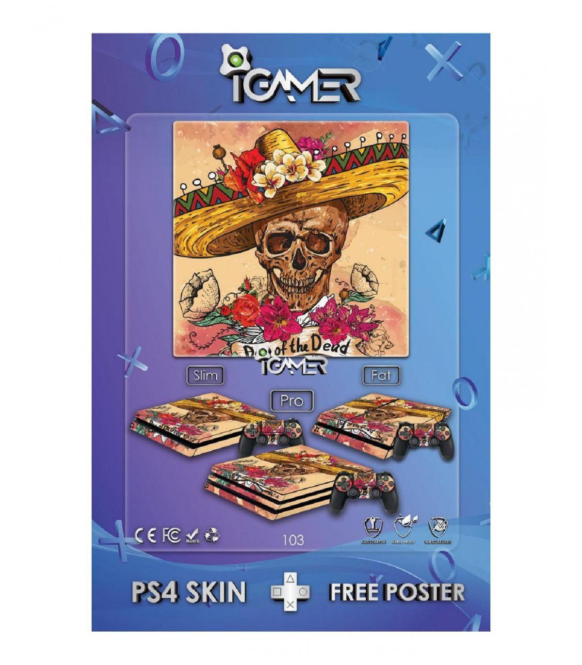 اسکین PS4 آی گیمر طرح جدید شماره ۳
