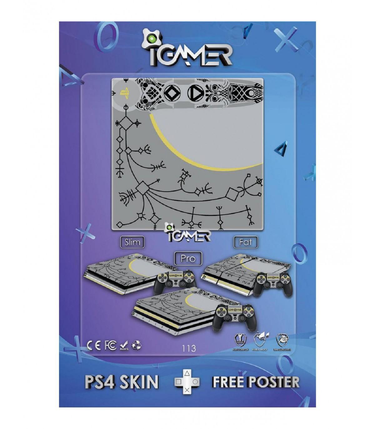 اسکین PS4 آی گیمر طرح جدید شماره 13