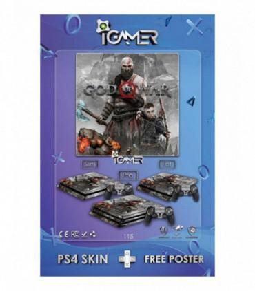 اسکین PS4 آی گیمر طرح جدید شماره 15