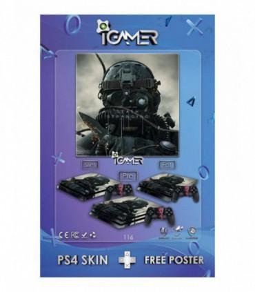 اسکین PS4 آی گیمر طرح جدید شماره 16